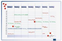 Legamaster Accents függőleges heti tervező, 60x90 cm (LM7-490000)