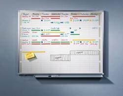 Legamaster Professional feladattervező (heti felbontás), 90x120 cm (LM7-409000)