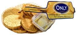 ONLY Tejcsokoládé Euro Érmék (100g)