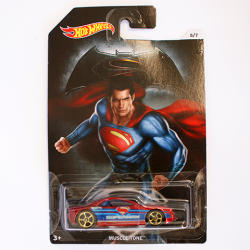 Mattel Hot Wheels - Batman vs Superman - Muscle Tone