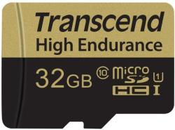 Transcend microSDHC High Endurance Class 10 +Adapter TS32GUSDHC10V