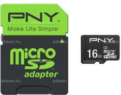 PNY microSDHC 16GB Class 10 UHS-I SDU16G10HIGPER80-EF