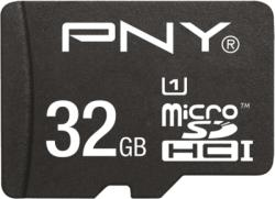 PNY MicroSDHC High Performance 32GB Kit SDU32GHIGPER80KIT-EF