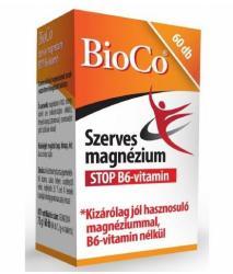 BioCo Szerves Magnézium STOP B6-vitamin (60db)