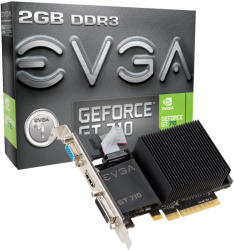 EVGA GeForce GT 710 2GB GDDR3 PCI-E (02G-P3-2712-KR)