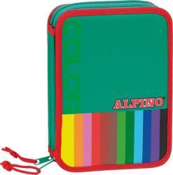 ALPINO Penar mare dublu, cu fermoar, echipat, ALPINO Color