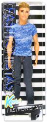 Mattel Barbie - Fashionstas - Ken baba kék farmerben (DGY67)