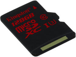 Kingston microSDXC 128GB Class 10 UHS-I U3 SDCA3/128GBSP