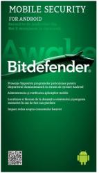 Bitdefender Mobile Security Scratch Card 2016 EH11311001