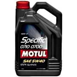 Motul SPECIFIC 0700 0710 5W-40 5L