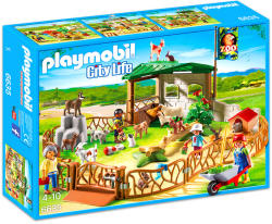 Playmobil Tarcul Animalelor de la Zoo (PM6635)