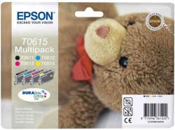 Epson T0615 MultiPack (BK/C/M/Y)