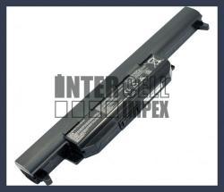 ASUS X55A 4400 mAh 6 cella fekete notebook/laptop akku/akkumulátor utángyártott