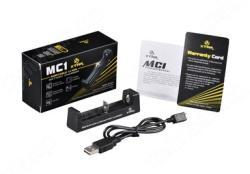 Xtar 18650 MC1 USB Lithium-Ion Li-Ion akkumulátor/cella töltő/adapter