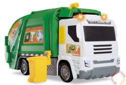 Dickie Toys Játék Kukásautó - valódi szemétszállító funkciókkal (3746002)