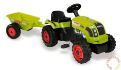 Smoby Claas pedálos traktor utánfutóval (710107)