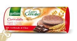 gullón Rostban Gazdag Gabonakeksz Csokoládéval (300g)