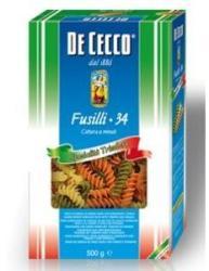 De Cecco Fusilli 3 Színű száraztészta 500g