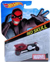 Mattel Hot Wheels - Marvel - Vörös Koponya kisautó
