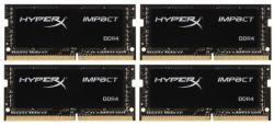 Kingston HyperX Impact 16GB (4X4GB) DDR4 2400MHz HX424S15IBK4/16
