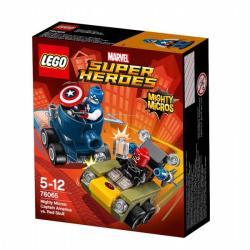 LEGO Marvel Super Heroes - Amerika Kapitány vs Vörös Koponya (76065)