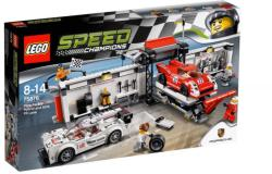 LEGO Speed Champions - Porsche 919 Hybrid és 917K bokszutca (75876)