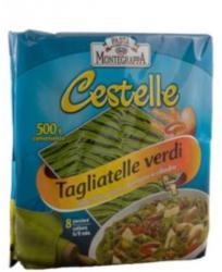 Pasta Montegrappa Tagliatelle Verdi tészta 500g