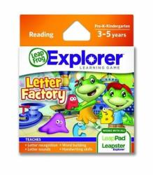LeapFrog LeapPad Explorer: Fabrica Literelor - Soft educational (LEAP32019)