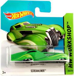 Mattel Hot Wheels - Workshop - Screamliner kisautó - zöld