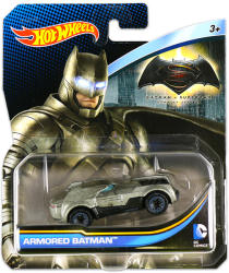 Mattel Hot Wheels - DC karakter kisautók - Armored Batman