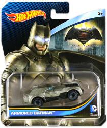 Mattel Hot Wheels - DC karakter kisautók - Armored Batman