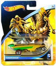 Mattel Hot Wheels - DC karakter kisautók - Hawkman