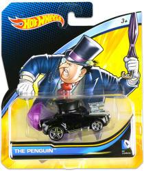Mattel Hot Wheels - DC karakter kisautók - The Penguin
