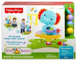 Fisher-Price Mókás szafari elefánt labdakilövő