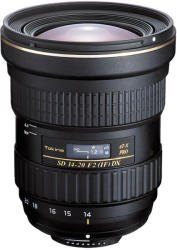 Tokina AT-X 14-20mm f/2 DX EF Pro (Canon)