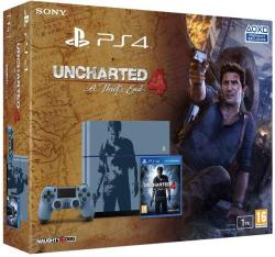 Sony PlayStation 4 Limited Edition 1TB (PS4 1TB) + Uncharted 4 A Thief' s End