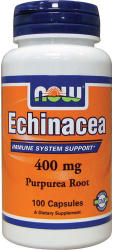 NOW Echinacea 400mg kapszula - 100 db