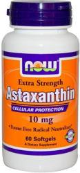 NOW Astaxanthin 10mg kapszula - 60 db