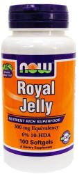 NOW Royal Jelly 300mg méhpempő kapszula - 100 db