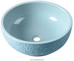 SAPHO PRIORI kerámia mosdó, égszínkék 42 cm (PI014)