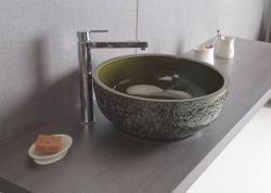 SAPHO PRIORI kerámia mosdó, olivazöld 43 cm (PI016)
