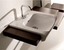 SAPHO Inka mosdó, fehér 40x40 cm (341201)