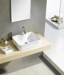 SAPHO Balena mosdó, túlfolyó nélkül 48x13.5x37 cm (BH7013)