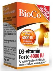 BioCo D3-Vitamin Forte 4000 IU tabletta (100db)