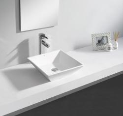 SAPHO Elche mosdó, túlfolyó nélkül 41x13x41 cm (BH7008)