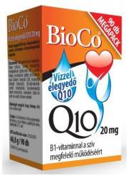 BioCo Vízzel elegyedő Q10 20mg B1-vitaminnal (90db)