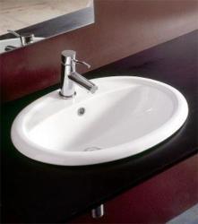 SAPHO Godia mosdó, beépíthető 58.5x45 cm (233001)