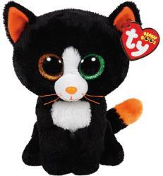 TY Inc Beanie Boos: Frights - Baby pisica negru-portocaliu 15cm (TY41121)