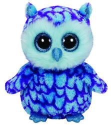 TY Inc Beanie Boos: Oscar - Baby bufnita albastra 15cm (TY36148)