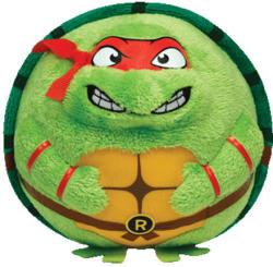 TY Inc Beanie Ballz: Raphael TMNT 12cm (TY38254)